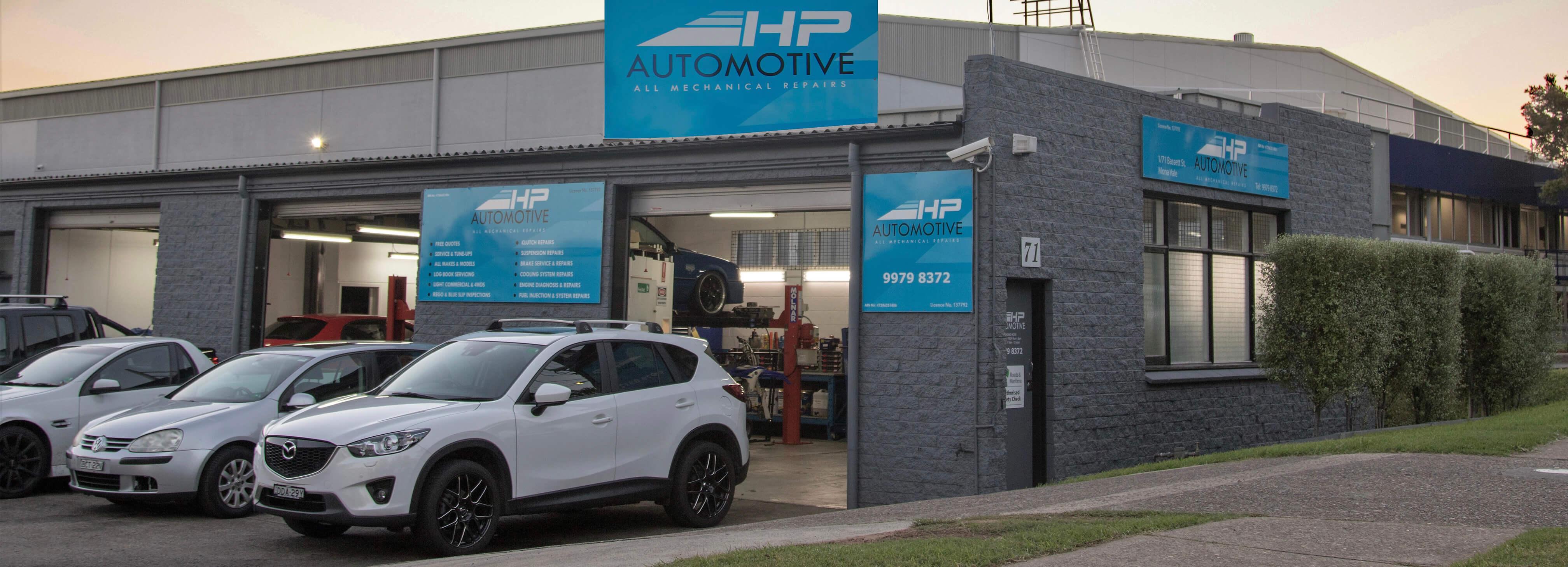Car Servicing, Repair and Auto Mechanic Shop Sydney - HP Automotive